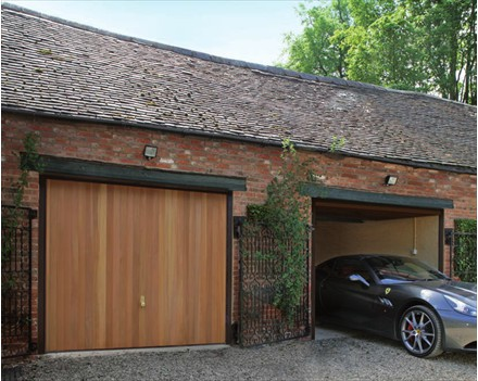 Retractable garage doors