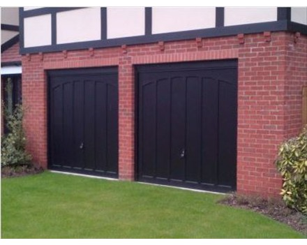Woodrite garage door